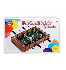Play Fun 8561 Tischfußball Tisch-Kicker Fußballspiel34x22x7cm