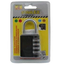 Stahlex 008607 Vorhängeschloss mit Zahlen 80mm