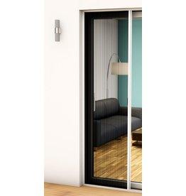 Alu Plissee Tür Professional 125x220 kürzbar braun 101460102-VH