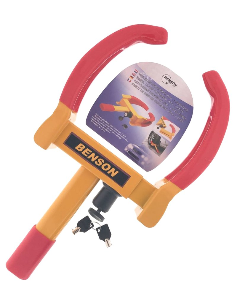 Benson 12287 Radklemme PKW Universal inkl. 2 Schlüssel