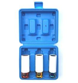 Höfftech 012213 Stecknüsse Schoneinsätze 17-19-21mm für Alufelgen