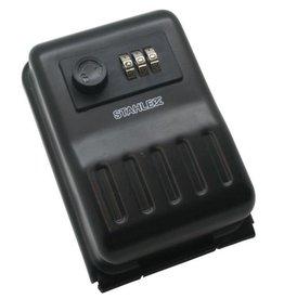 Stahlex 011631 Schlüsseltresor Schlüsselsafe mit Zahlenschloss