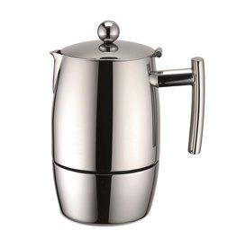 Weis 16986 Edelstahl Espressokocher 300ml für 6 Tassen