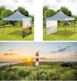 Westerholt 2532-01 Pavillon Seitenwand Friesland 300x220cm