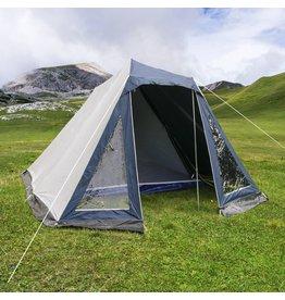 HI 62216 Zelt Familienzelt für 4 Personen mit Moskitonetz