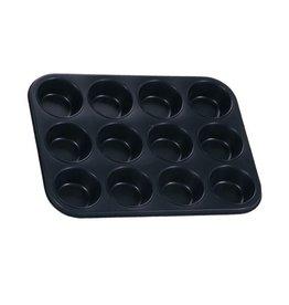 Eurohome 597501 Muffinform für 12 Muffins antihaftbeschichtet
