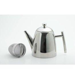 Weis 170694 Edelstahl Teekanne mit Sieb 1,5 Liter