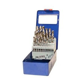 BGS technic 2021 HSS Spiralbohrer Satz 26tlg 1-13mm Metallkassette