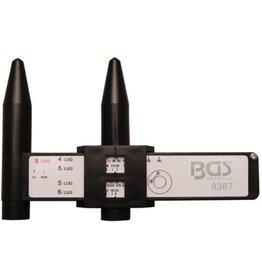 BGS technic 8367 Lochkreis Messschieber für PKW Felgen