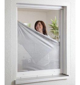 Sonnenschutz Fliegengitter für Fenster 130x150cm anthrazit/silber 100240105-CU