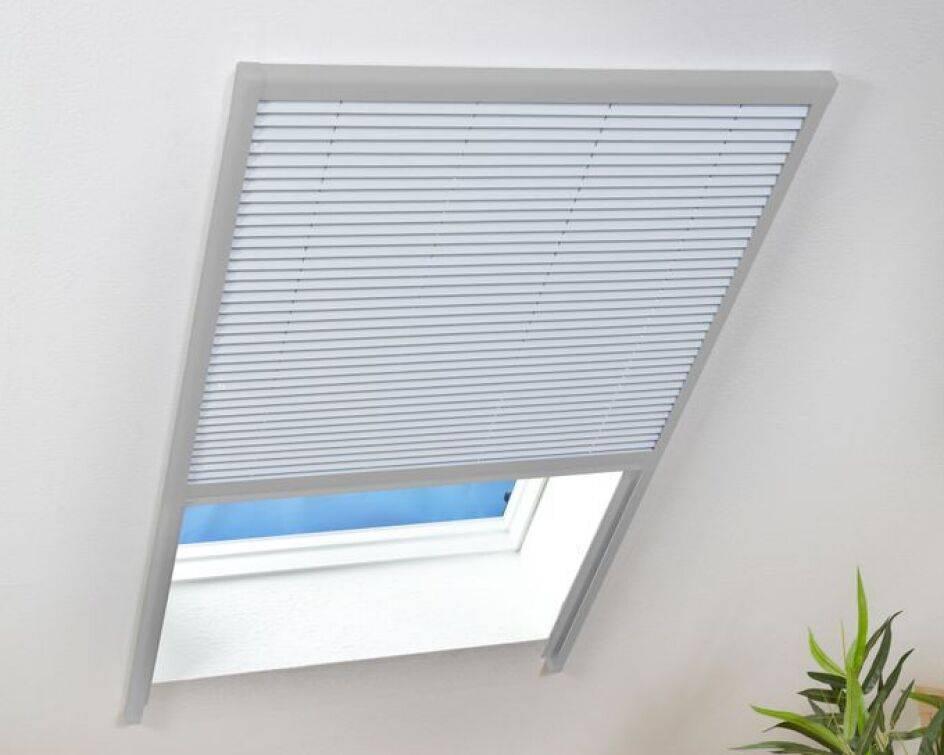 Sonnenschutz Dachfenster Plissee 110x160cm Braun 100540102 Vh