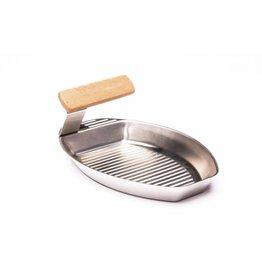Grillpfännchen Grillpfanne Grillkorb FUEGO für Fisch Gemüse 25x16cm 201880419-HE