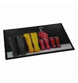 Fussmatte Motiv Boots Stiefel 75x50cm 1851575960