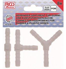 BGS technic 8790-5 Kunststoff Verbinder kraftstoffbeständig 8tg 5mm
