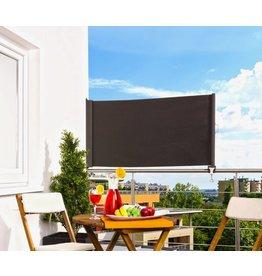 Balkonmarkise Balkon Sichtschutz anthrazit H80 ausziehbar bis 300cm 301820107-HE