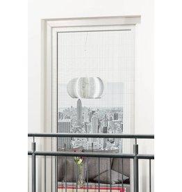 Fliegengitter 130x220cm für Türen an franz. Balkonen weiss 101140201-CU