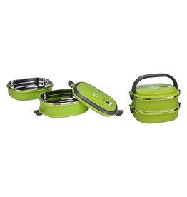 Lunchbox Brotdose Thermobox Vesperdose für kalte und warme Speisen 12218