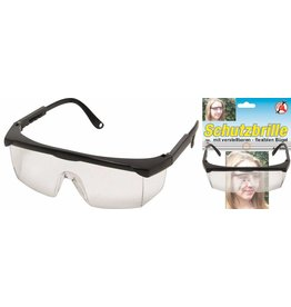 Kraftmann 80887 Schutzbrille mit verstellbaren flexiblen Bügel