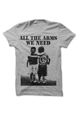 Useless All the arms we need - T-Shirt, grau
