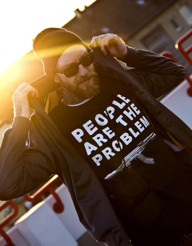 Useless People Are The Problem - Unisex T-Shirt - Fair Wear
