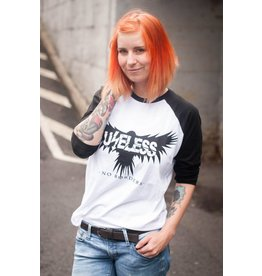 Useless No Borders Crow - Unisex College Longsleeve