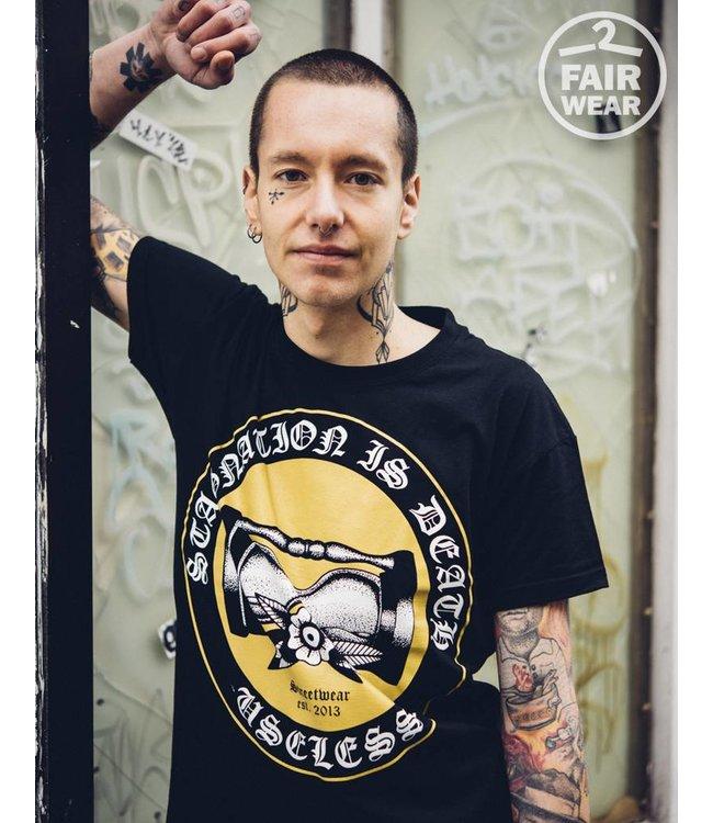 Stagnation  Is Death - Unisex T-Shirt - Fair Wear