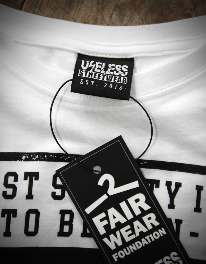 Useless Be Anti-Racist - Unisex T-Shirt - Fair Wear