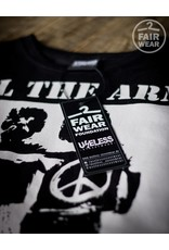 Useless All the arms we need - unisex T-Shirt, schwarz, Fairwear