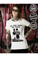 Useless All The Arms We Need - Fairwear Girlie weiß