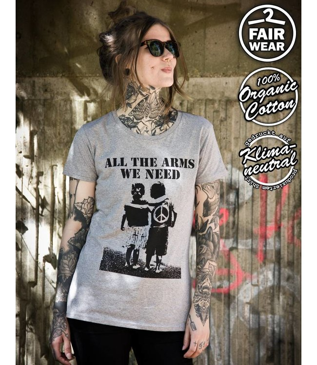 All The Arms We Need - Fairwear Girlie grau