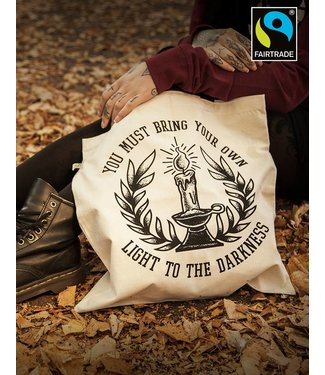 Bring Your Own Light - Tasche natural/schwarz