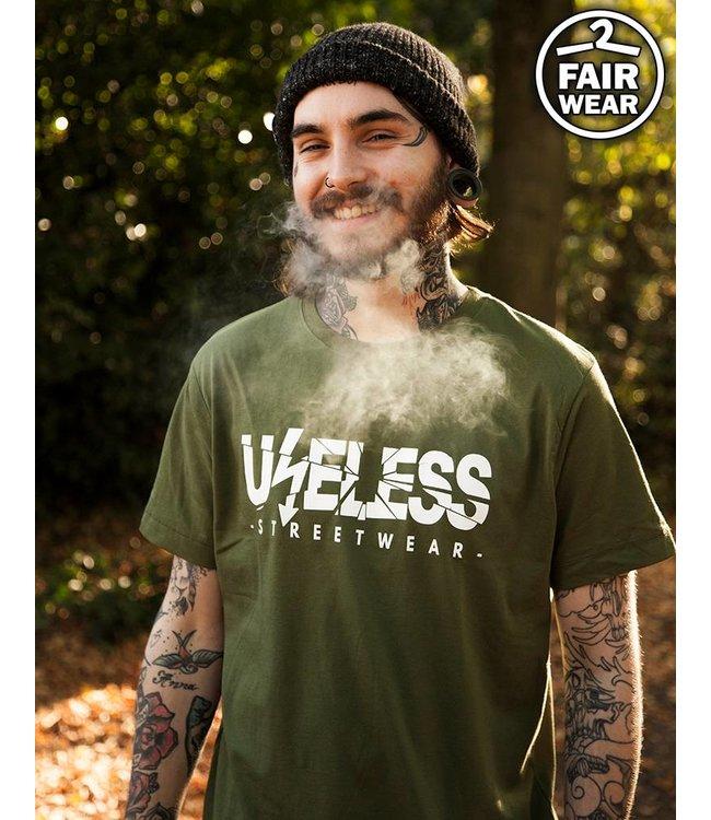 Logo - Unisex T-Shirt Oliv - Fairwear