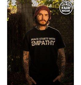 Peace Starts With Empathy - Unisex T-Shirt - Fairwear