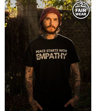 Peace Starts With Empathy - Unisex T-Shirt - Fairwear