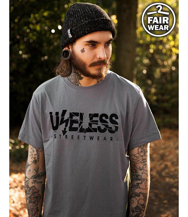 Logo - Unisex T-Shirt Grau - Fairwear
