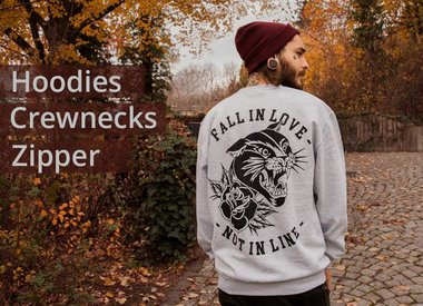 Sweatshirts / Jacken