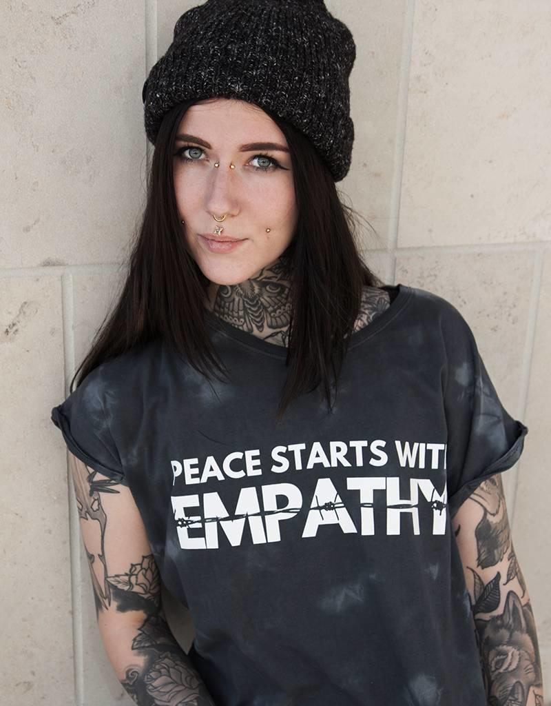 Peace Starts With Empathy - Girlie batik