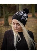 Useless Winterbeanie - schwarz - mit gewebtem Label