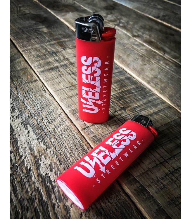 Useless BIC Maxi Feuerzeug  rot