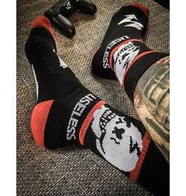 Useless Socks - schwarz/rot