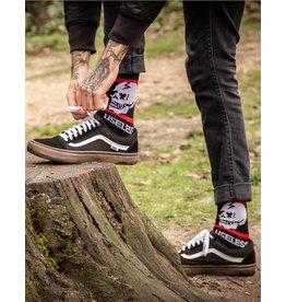 Useless Useless Socks - schwarz/rot
