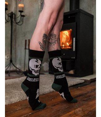 Useless Socks - schwarz/grün