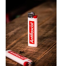 Useless Antifascist - Feuerzeug BIC Slim