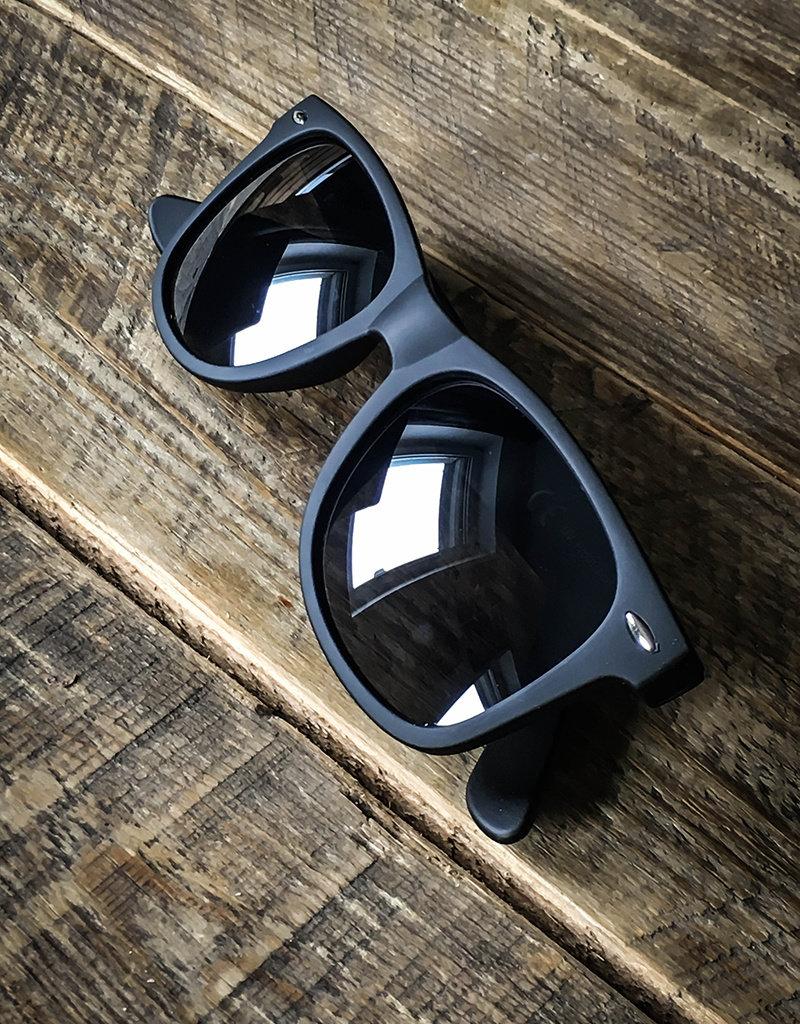 Sonnenbrille, schwarz matt