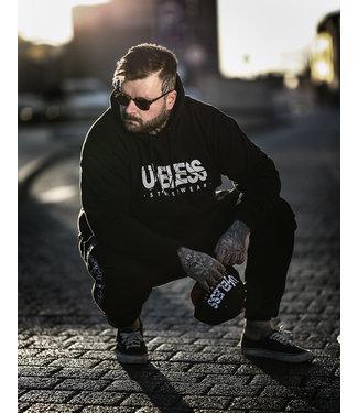 Streethoodie, schwarz - Unisex