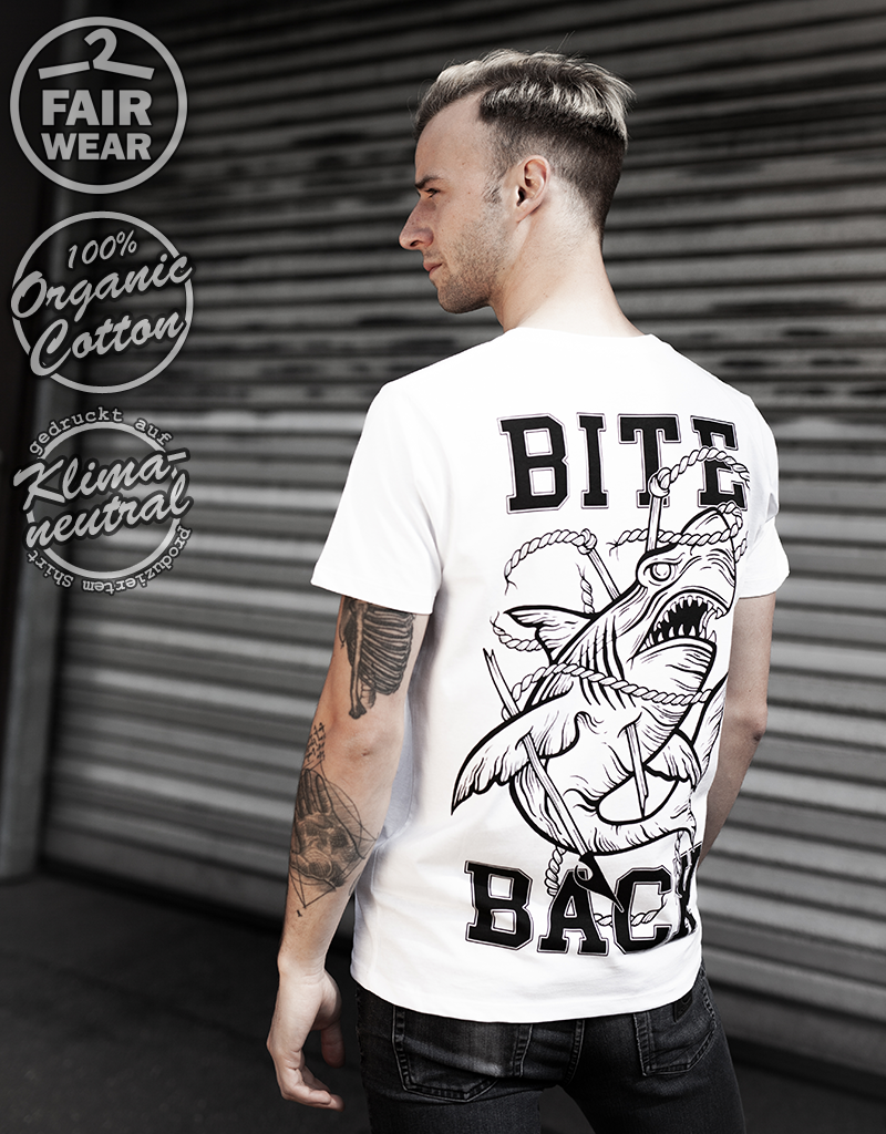 Useless Bite Back - unisex T-Shirt, bio, fair