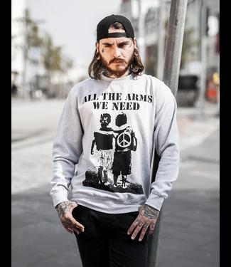 All The Arms We Need - Unisex Sweatshirt grau