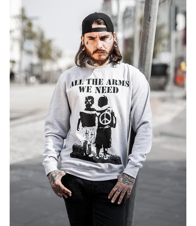 All The Arms We Need - Unisex Sweatshirt grau