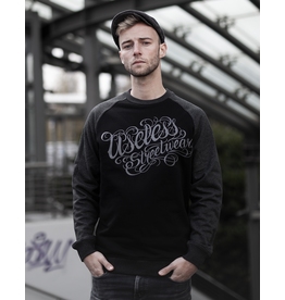 Useless Tattoo Logo College Sweater, unisex