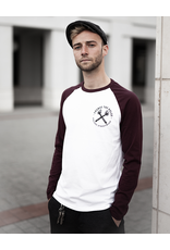 Useless Change The Rules - Longsleeve burgundy/white - Fairwear